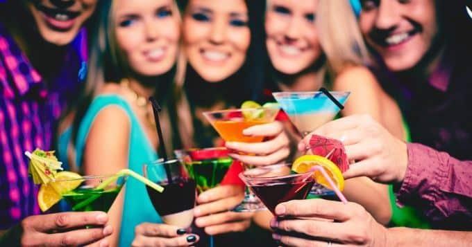 cocktails en soirée